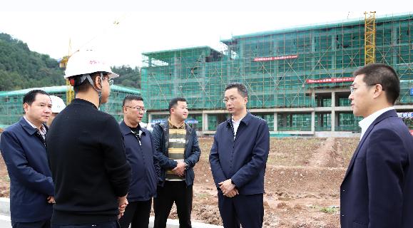 李玉甫调研督导临港产业园建设推进工作